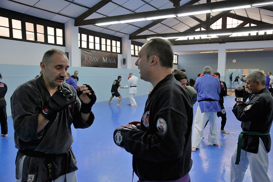 Sparring defensa personal