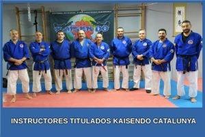 Instructores Kaisendo Catalunya equipo